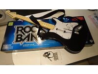 Rock Band Wireless Guitar Xbox 360