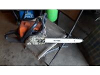 Stihl chain saw