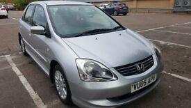 Honda civic !.6cc Silver colour Alloywheels New tyre quick sale