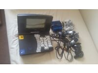 Play Station 2, 24 games 3 controllers, transformer & screen for car + memory try offer