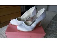 Brand new white wedding / bridal shoes £20 ONO