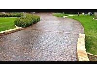 IMPRINTED / STAMPED CONCRETE (driveways/patios)