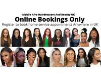 Home Service Hair Braiding, Senegalese twist, Box braiding, Weaves, Mobile Afro Hairdressers UK