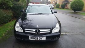 MERCEDES CLS 320CDI, AUTO, DIESEL, BLACK, FULL HISTORY, LEATHER HEATED INTERIOR, HPI CLEAR, TOP SPEC