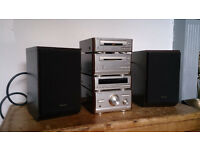 Technics Mini Hifi With Speakers