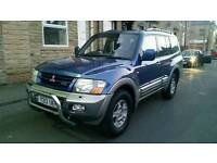 Mitsubishi shogun face lift 3.2 diesal 7 seater