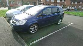 Vauxhall zafira 1.9 cdti elite