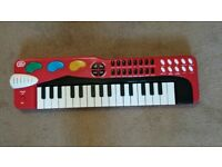 Chad Valley Electronic Keyboard-Very good condition-Smoke & Pet free home.
