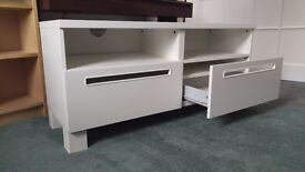 Large TV Stand - White