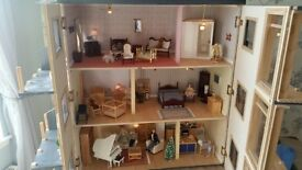 3 story fully eletric dolls house emporium