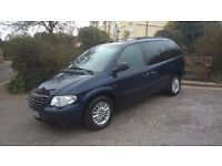 7 SEATS CHRYSLER VOYAGER, DIESEL, AUTOMATIC, FSH, JUST SERVICED, NEW MOT