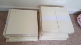 350 cream DL card blanks with envelopes
