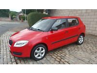 2010 Skoda Fabia 1.4 diesel,Roadtax only 30 pounds,URBAN 49.6 MPG,Mot 12 months,2 owners,lovely car