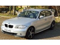 BMW 118 d 2006 silver