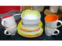 Dinner table ware for camping