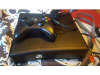 Xbox 360 4gb with 7 games