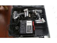 Panasonic drill and impact driver set not makita dewalt milwaukee