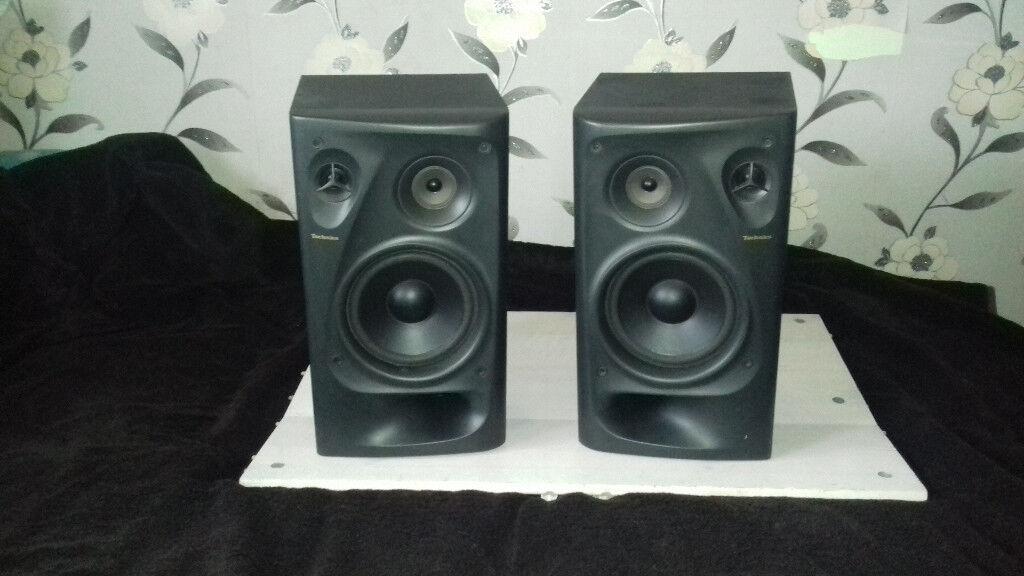 Technics 3Way 100 Watt speakers