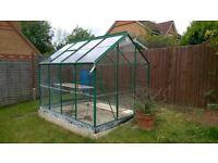 b&q premier green house