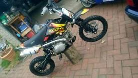 Pitbike super stomp 125cc