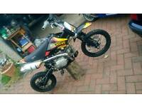 Pitbike super stomp 125cc