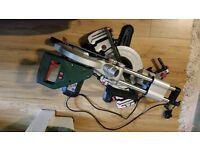 Metabo KGS216M 240V Laser Slide Compound Mitre Saw