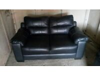 3 and 2 leather settee