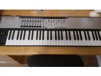 Novation 61SL MKII midi keyboard