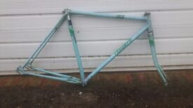 Vintage Triumph Road / racing bike frame for project