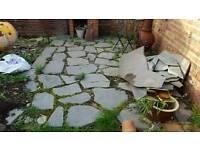 Slate for garden paving