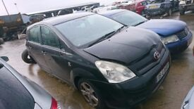 2005 TOYOTA COROLLA VERSO T3 D4D, 2.0 DIESEL, BREAKING FOR PARTS ONLY, POSTAGE AVAILABLE NATIONWIDE