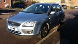 2005 Ford Focus II 1.6 zetec , MOT - July 2017, 120,000 miles