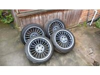 BMW 18 inch ALPINA Replica Alloy Wheels Rims with tyres 5X120 like style 32