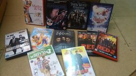 Selection of dvds £1.50 each