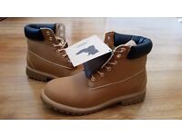 Timberlands Boot Premium Quality For Men Sizes 6-12. Tan And Black. ONLY £35! TWO PAIRS £60
