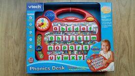 Vtech Phonics/Alphabet Musical Desk **BRAND NEW**