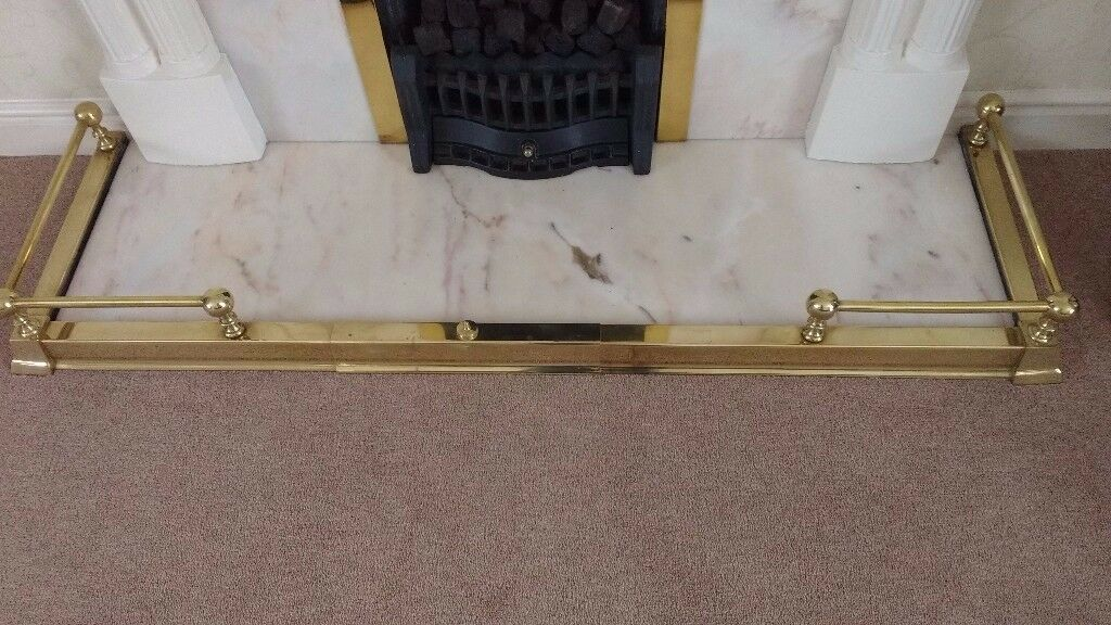 Brass Extendable Fireplace Fender Fireplace Ideas