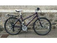 Women's PENDLETON BROOKE hybrid bike - cycle, purple, 18inch, mountain, road, classic shape