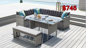 All patio/ outdoor furniture on sale now-STARTS FROM $249