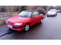 Peugeot 306 cabriolet 2.0 *Moted* *Drive away *