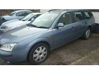 Ford Mondeo Estate 2.0 TDCi spares or repairs