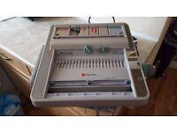 Rexel Comb Binding Machine CWB406