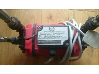 1.5 bar Aura Twin Impeller Shower Pump - Good Working Condition