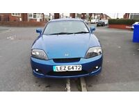 HYUNDAI COUPE 2006 RARE BLUE 2.0 CHEAP SPORTS CAR WITH SELLABLE NUMBER PLATE