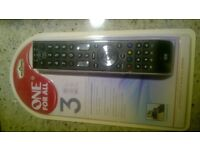 One for All Universal Remote Control 3