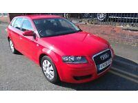 2008 Audi A3 1.6 Sportback 5dr Hatchback, 12 Months AA Breakdown, 3 Months Autoguard Warranty, £2995