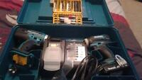 Brand new drill set never used