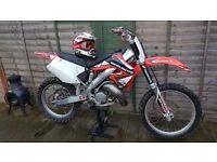 HONDA cr125 off road motocross