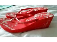 Firetrap wedge sandals 6-7
