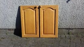 Oak Base Unit doors.